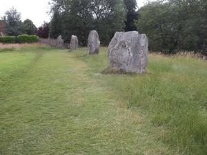 Circle of stones, Avebury