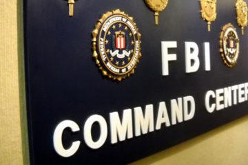FBI Command Center Sign (via FBI.gov)