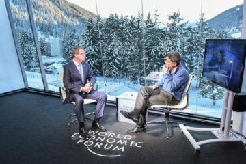 Sec Def Ash Carter and Fareed Zakaria at Davos, 2016 (DoD)